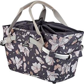 Basil Magnolia Carry All Rear Wheel Basket, negro